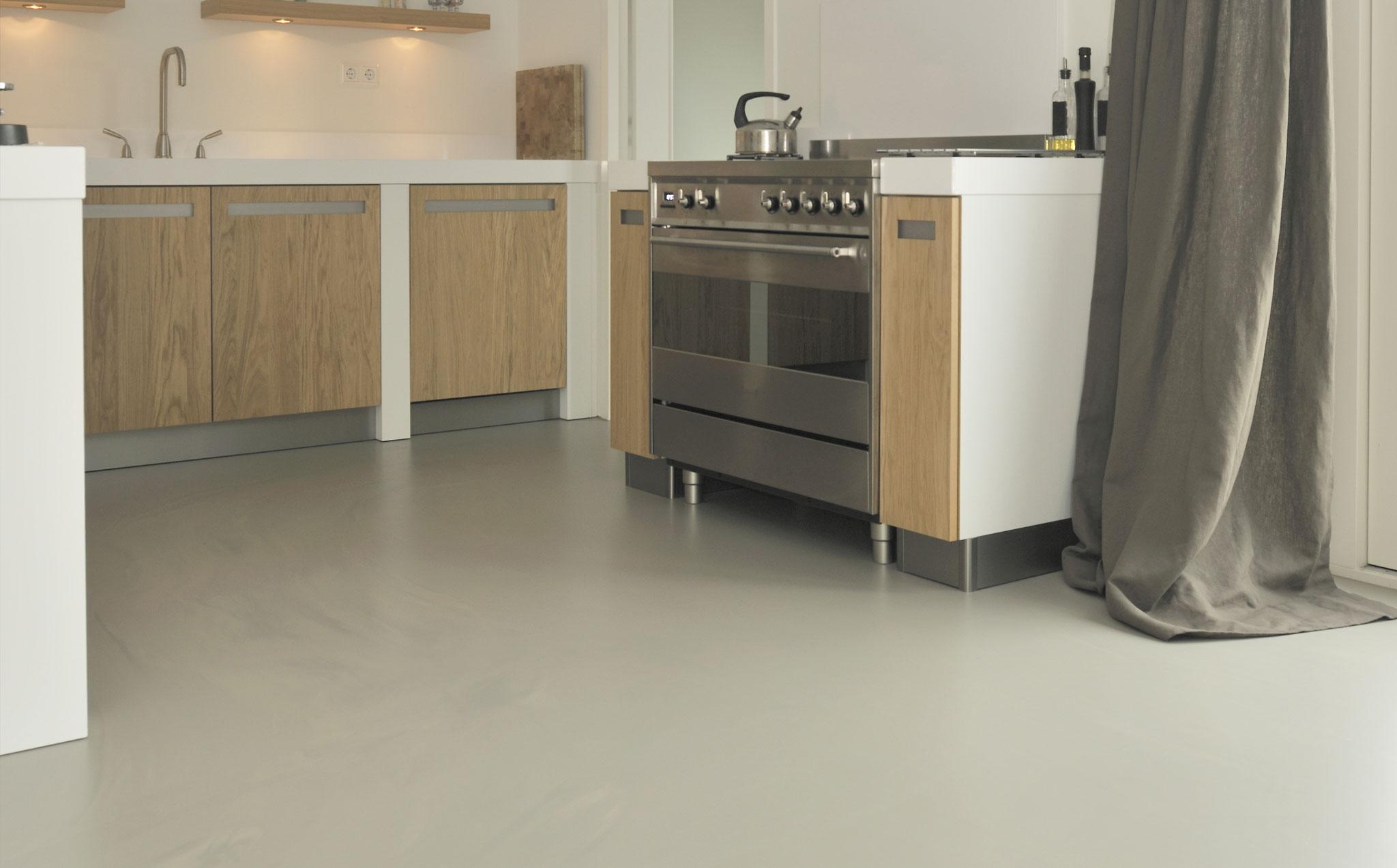 Gietvloer Kitchens Keuken : Gietvloer keuken residential flooring by bolidt residential