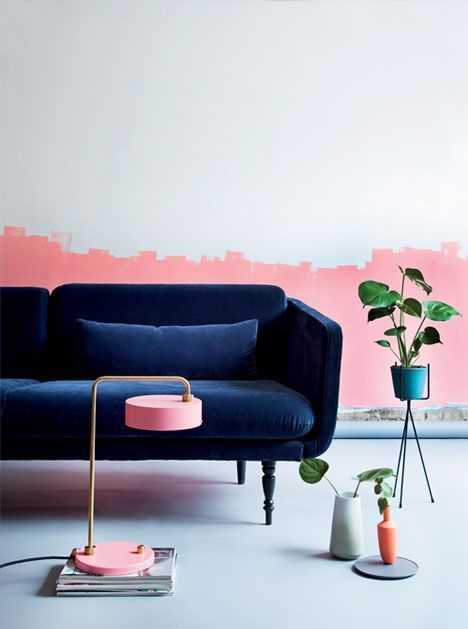 interieur trends winter 2017/ 2018 - millenial pink
