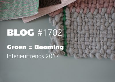 Lente interieur trends 2017: Groen = booming