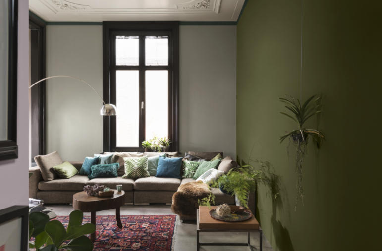 Lente interieur trends 2017: Groen = booming - Residential Flooring