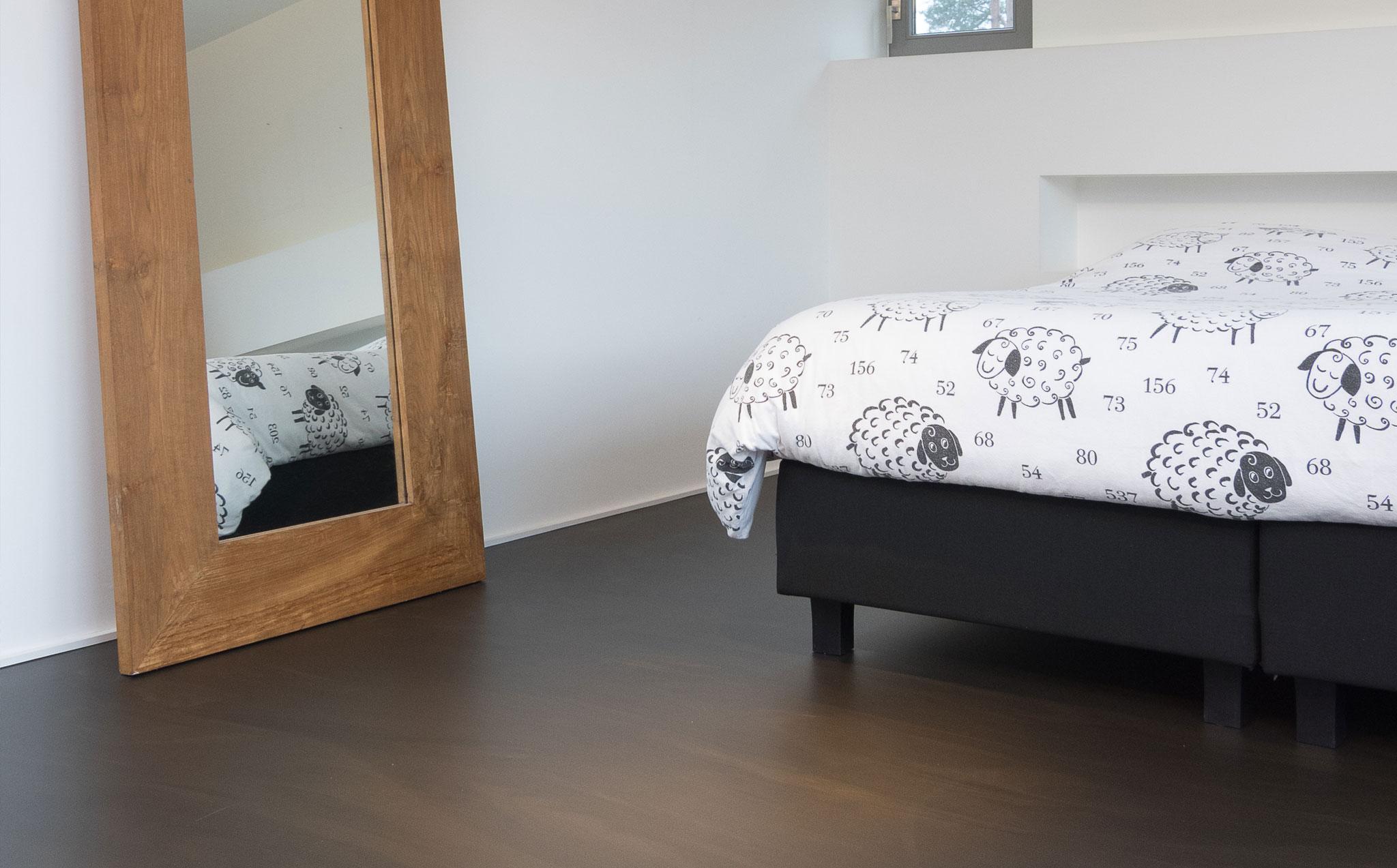 Gietvloer slaapkamer residential flooring by bolidt