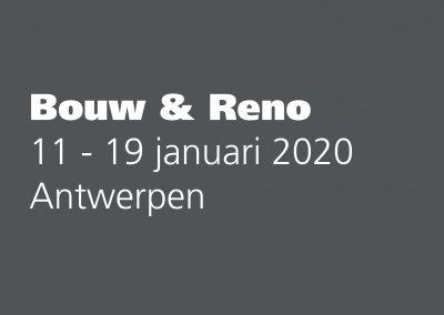 Beurs Bouw & Reno 2020